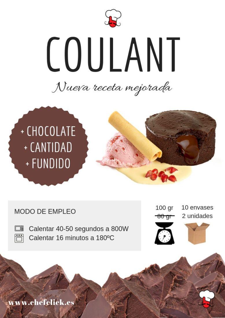 Coulants de chocolate