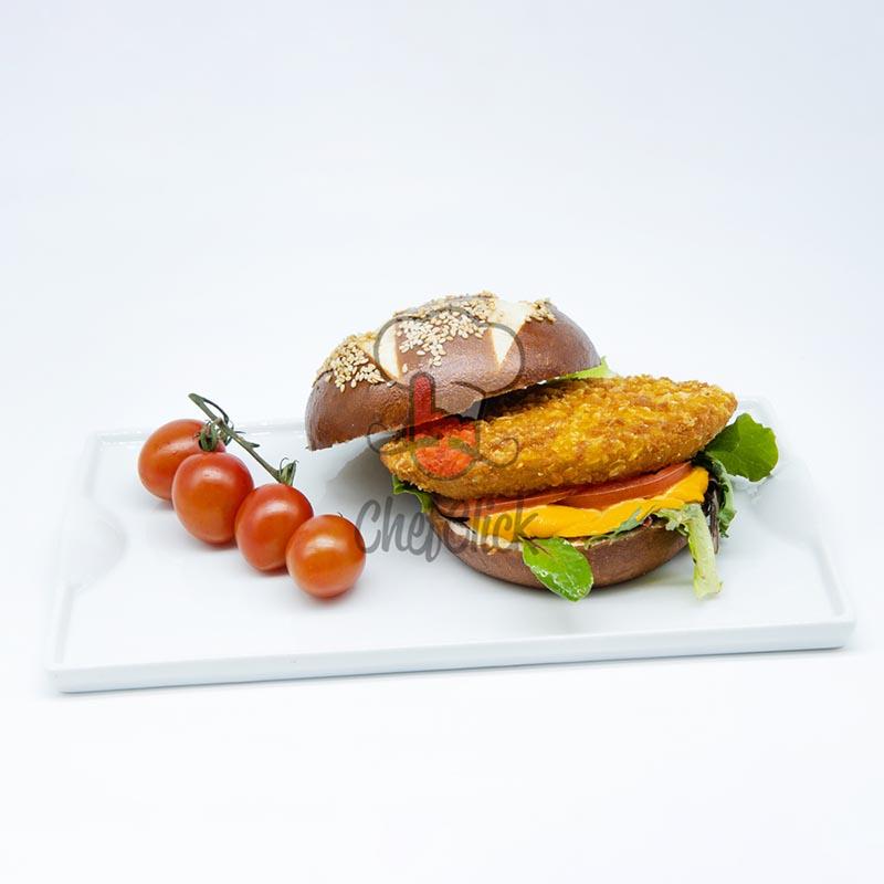 burger pechuga cornflakes