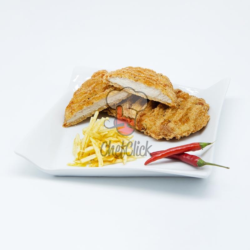 filete de pollo empanado estilo sureño chefclick
