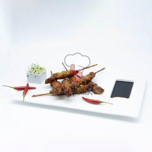 mini brocheta yakitori soja chefclick